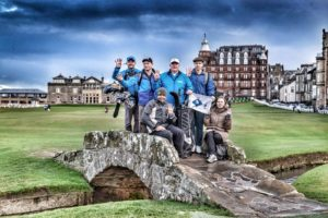 Flying the flag together – Zest.Golf partners with Global Golf4 Cancer